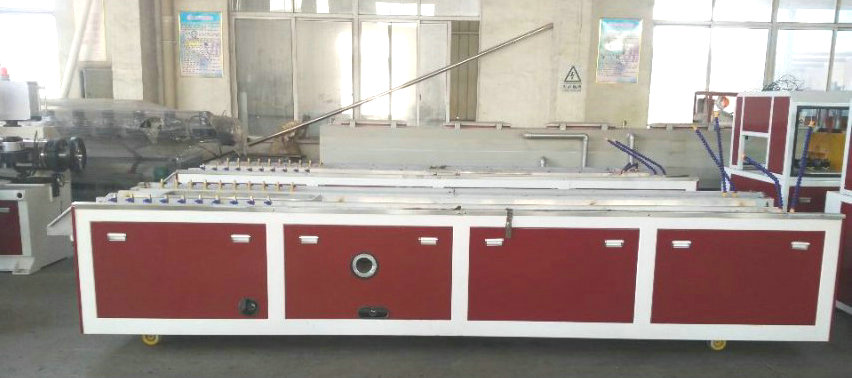 WPC extrusion machine production line