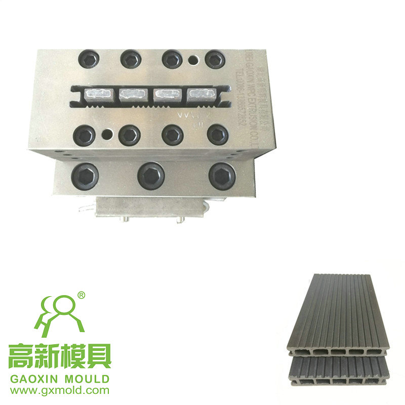 extrusion mould for composite decking