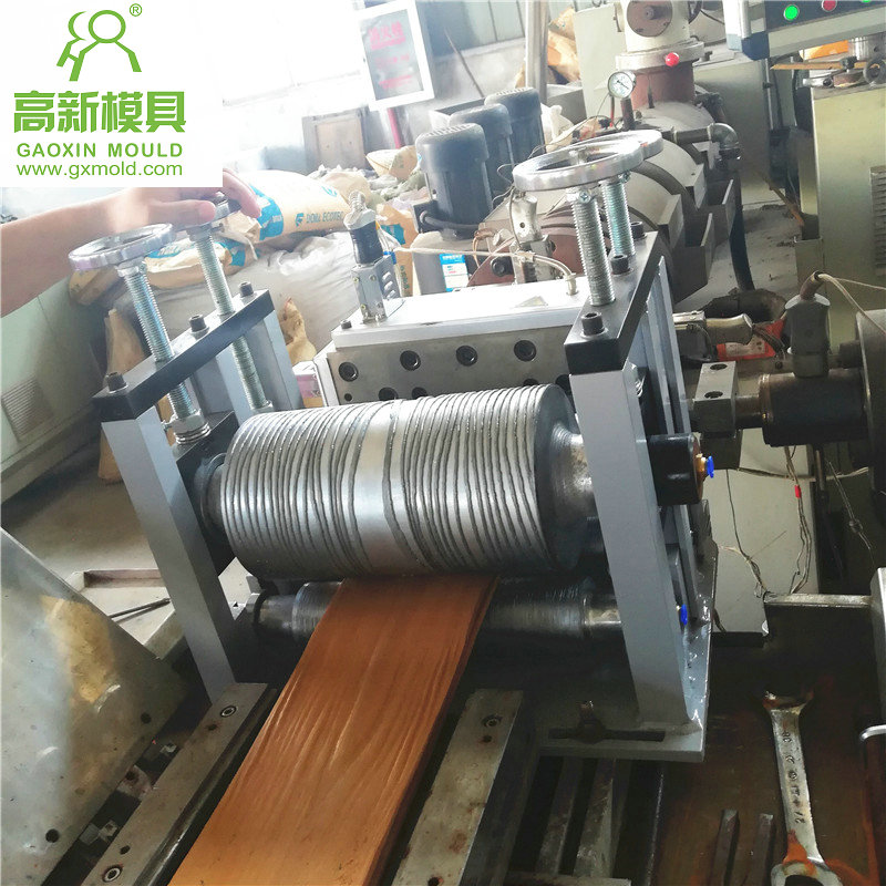 WPC decking production