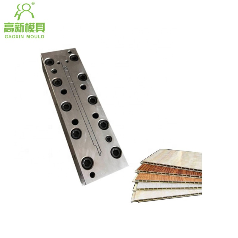 extrusion mould for PVC wall cladding