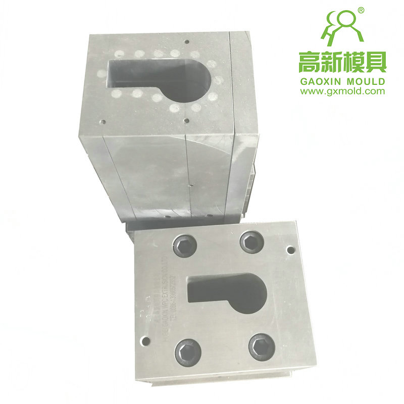 extrusion mould for WPC handrail