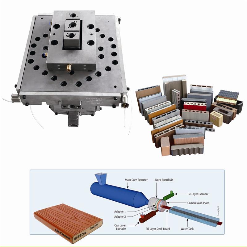 WPC extrusion tool / composite extrusion die