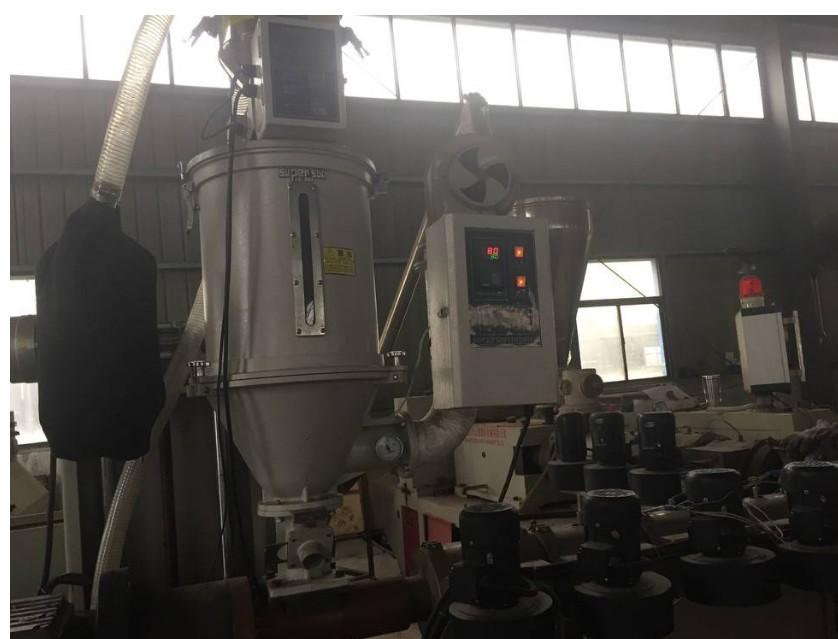 WPC coextrusion machine