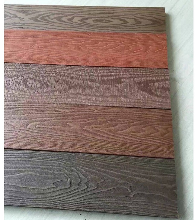 embossing design of WPC decking